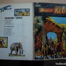 Tebeos: TRINCA PRESENTA - MANOS KELLY - NÚMERO 2 - TAPA DURA - DONCEL. Lote 155514626
