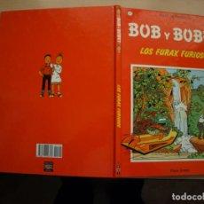 Tebeos: BOB Y BOBET - LOS FURAX FURIOSOS - NÚMERO 1 - TAPA DURA - PLAZA JOVEN. Lote 155515066