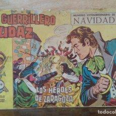 Tebeos: EL GUERRILLERO AUDAZ - Nº 19 EXTRAORDINARIO DE NAVIDAD, ORIGINAL - ED. VALENCIANA. Lote 155893586
