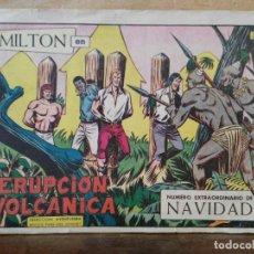 Tebeos: MILTON - Nº 123 EXTRAORDINARIO DE NAVIDAD, ORIGINAL - ED. VALENCIANA. Lote 155910978