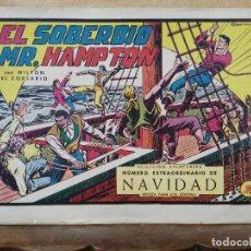 Tebeos: MILTON EL CORSARIO - Nº 97 EXTRAORDINARIO DE NAVIDAD, ORIGINAL - ED. VALENCIANA. Lote 155911766