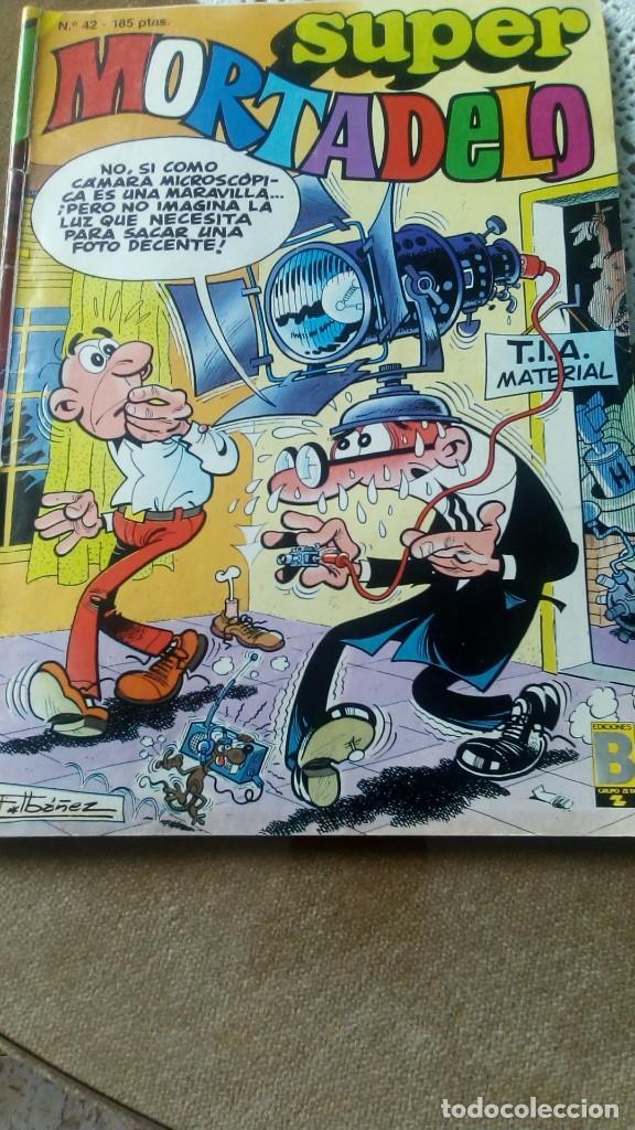 SUPERMORTADELO NÚMERO 42 AÑO 1987 (Tebeos y Cómics - Tebeos Extras)