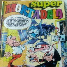 Tebeos: SUPERMORTADELO NÚMERO 42 AÑO 1987. Lote 156560758
