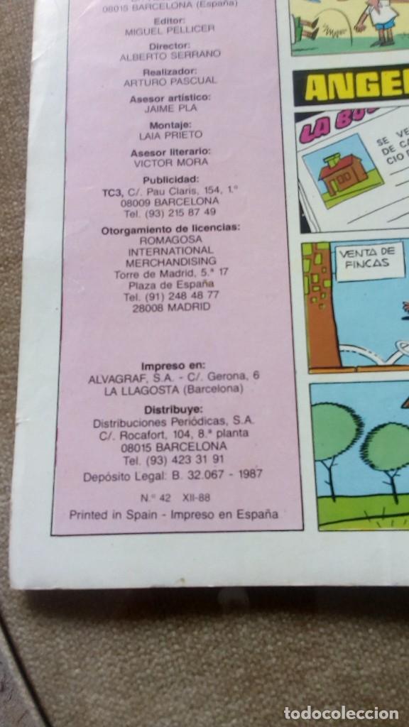 Tebeos: Supermortadelo número 42 año 1987 - Foto 2 - 156560758