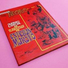 Livros de Banda Desenhada: MUY BUEN ESTADO DOSSIER NEGRO ESPECIAL ESTEBAN MAROTO MARZO 1978 IMDE BOLI PORTADA. Lote 158236498