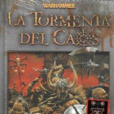 Livros de Banda Desenhada: WARHAMMER LA TORMENTA DEL CAOS. Lote 158690386