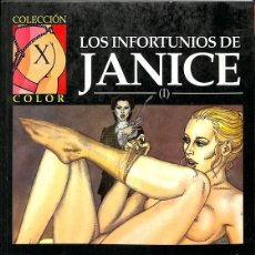 Tebeos: LOS INFORTUNIOS DE JANICE (I). Lote 162723288