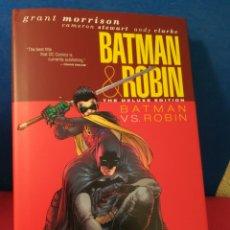 Tebeos: BATMAN VS ROBIN - DELUXE EDITION - GRANT MORRISON - DC COMICS, 2010 (INGLÉS). Lote 163003313