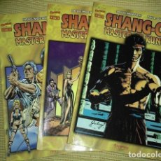 BDs: SHANG - CHI: MASTER OF KUNG - FU. MOENCH & GULACY. FORUM, COMPLETA 3 NÚMEROS.. Lote 163354618