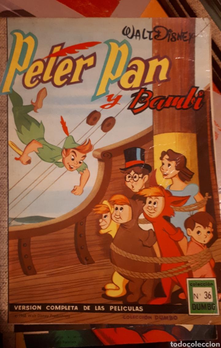 ESPECIALES COLECCION DUMBO PETER PAN..MERLÍN...EL LIBRO DE LA SELVA....20.000 LEGUAS DE VIAJE SUBMAR (Tebeos y Cómics - Tebeos Extras)