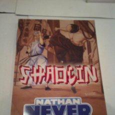 Tebeos: NATHAN NEVER - SHAOLIN - MUY BUEN ESTADO - EDICIONES ALETA - GORBAUD . Lote 163554510