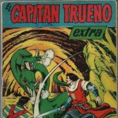 Tebeos: EL CAPITAN TRUENO EXTRA - NUMERO DE VACACIONES 1960 - BRUGUERA - ORIGINAL - VER DESCRIPCION. Lote 165385746