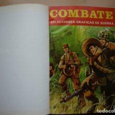 Tebeos: TOMO CÓN DIEZ NÚMEROS DE - COMBATE - VER PORTADAS Y NÚMERACIÓN. Lote 165869746