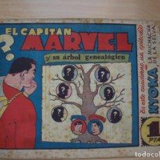 Tebeos: EL CAPITAN MARVEL - NÚMERO 16 - Y SÚ ARBOL GENEALOGICO - HISPANO AMERICANA. Lote 168295660