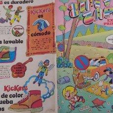 Livros de Banda Desenhada: ZIPI Y ZAPE EXTRA DE PRIMAVERA 1975 BRUGUERA CON POSTER CENTRAL DE ZIPI Y ZAPE POR ESCOBAR. Lote 173372973