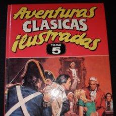 Tebeos: TEBEOS-CÓMICS CANDY - AVENTURAS CLASICAS ILUSTRADAS 5 - 7 AVENTURAS - AA99. Lote 173908317