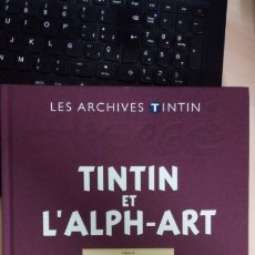 Tebeos: LOS ARCHIVOS TINTÍN ATLAS: TINTIN ET L'ALPH-ART, MOULINSART, HERGÉ. Lote 175268842