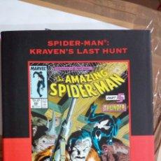 Tebeos: SPIDER-MAN: KRAVEN'S LAST HUNT PREMIERE HC (VARIANT) TAPA DURA PERFECTO ESTADO MUY RARO. Lote 175861102