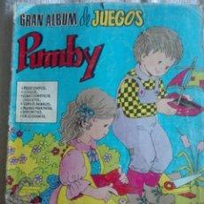 Tebeos: GRAN ÁLBUM PUMBY. Lote 175885214