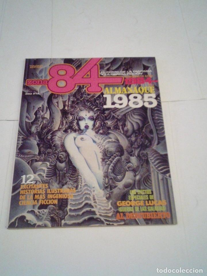 ZONA 84 - ALMANQUE 1985 - MUY BUNE ESTADO - GORBAUD - CJ 110 (Tebeos y Cómics - Tebeos Extras)