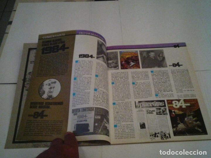Tebeos: ZONA 84 - ALMANQUE 1985 - MUY BUNE ESTADO - GORBAUD - CJ 110 - Foto 3 - 176287329