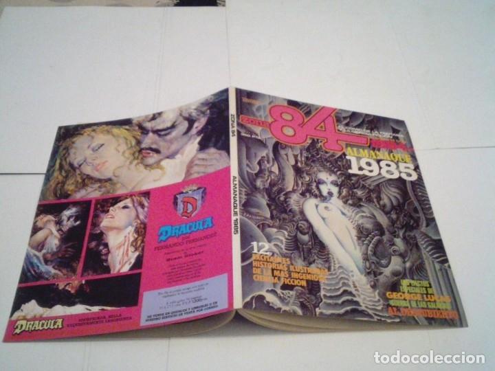 Tebeos: ZONA 84 - ALMANQUE 1985 - MUY BUNE ESTADO - GORBAUD - CJ 110 - Foto 7 - 176287329