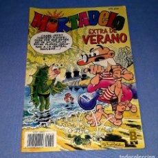 Tebeos: MORTADELO EXTRA DE VERANO AÑO 1990 ORIGINAL VER FOTO Y DESCRIPCION. Lote 178182772