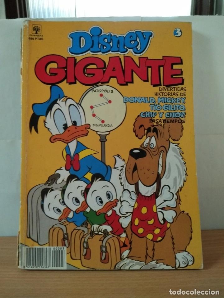 DISNEY GIGANTE Nº3 (Tebeos y Cómics - Tebeos Extras)