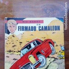 Tebeos: RIC BARRY EN FIRMADO CAMALEÓN. Lote 178793260