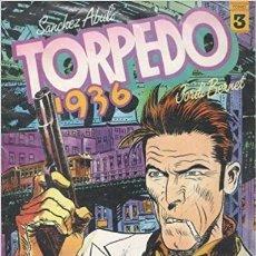 Tebeos: TORPEDO 1936Nº 3-4-5-6-7 - EDICIONES TOUTAIN EDITOR. Lote 181216578