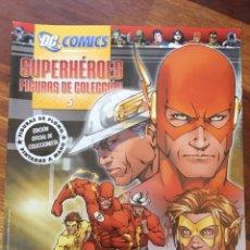 Tebeos: DC COMICS - SUPERHEROES FIGURAS DE COLECCION - EDICION OFICIAL DE COLECCIONISTA - FIGURA DE PLOMO PI. Lote 181910085