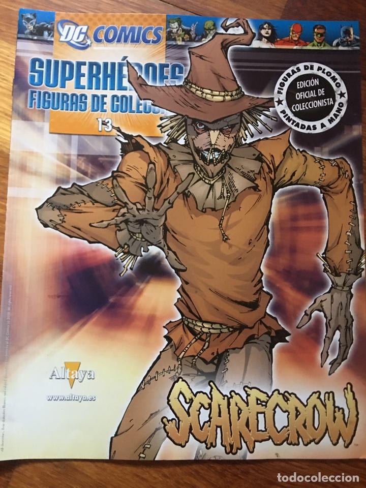 DC COMICS - SUPERHEROES FIGURAS DE COLECCION - EDICION OFICIAL DE COLECCIONISTA - FIGURA DE PLOMO PI (Tebeos y Cómics - Tebeos Extras)