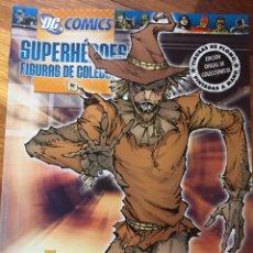 Tebeos: DC COMICS - SUPERHEROES FIGURAS DE COLECCION - EDICION OFICIAL DE COLECCIONISTA - FIGURA DE PLOMO PI. Lote 181921307