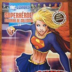 Tebeos: DC COMICS - SUPERHEROES FIGURAS DE COLECCION - EDICION OFICIAL DE COLECCIONISTA - FIGURA DE PLOMO PI. Lote 181921483
