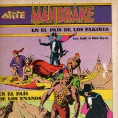 Tebeos: MANDRAKE EL MAGO EN EL PAIS DE LOS FAKIRES, NOVENO ARTE Nº 2. Lote 183333617