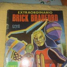 Tebeos: EXTRAORDINARIO BRICK BRADFORD.NUMERO 1 .EDICIONES MAISAL 1978. Lote 184096866
