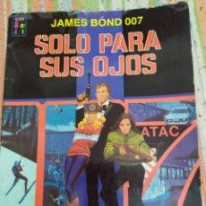 Tebeos: SOLO PARA SUS OJOS JAMES BOND CINECOMIC N° 1 EDICIONES RECREATIVAS. Lote 184289631