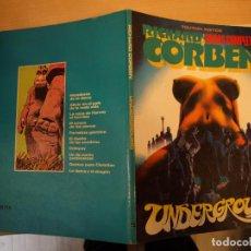 Tebeos: RICHARD CORBEN - UNDERGROUND - FORMATO CARTONE - TOUTAIN - AÑO 1985 - BUEN ESTADO. Lote 188593043