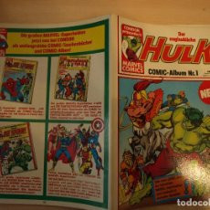 Livros de Banda Desenhada: HULK COMIC ALBUM Nº 1 - IDIOMA ALEMAN - BUEN ESTADO. Lote 188707393