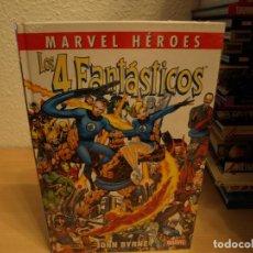 Tebeos: MARVEL HEROES - LOS 4 FANTASTICOS - JOHN BYRNE - TAPA DURA - PANINI - PRECINTADO - COMO NUEVO. Lote 189917028