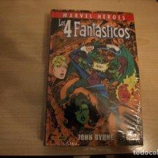 Tebeos: MARVEL HEROES - LOS 4 FANTASTICOS - TOMO 4 - TAPA DURA - PANINI - COMO NUEVO - PRECINTADO. Lote 189983636