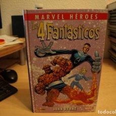 Tebeos: MARVEL HEROES - LOS 4 FANTASTICOS - TOMO 2 - TAPA DURA - PANINI - COMO NUEVO - . Lote 189983657