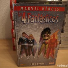 Tebeos: MKARVEL HEROES - LOS 4 FANTASTICOS - JOHN BYRNE - TOMO 3 - TAPA DURA - PANINI - NUEVO - PRECINTADO. Lote 190030651