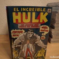 Tebeos: EL INCREIBLE HULK - TOMO 1- TAPA DURA - PANINI - NUEVO - PRECINTADO. Lote 190031242