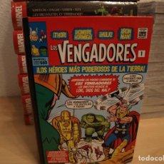 Tebeos: LOS VENGADORES - TOMO 1 - 560 PAGINAS - TAPA DURA - PANINI - COMO NUEVO. Lote 190624542
