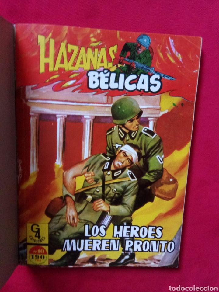 Tebeos: HAZAÑAS BÉLICAS EXTRA TOMO 4 NÚMEROS 10,11,12 G4 EDICIONES - Foto 5 - 190800021