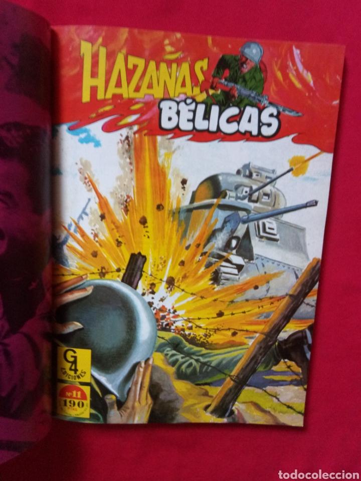 Tebeos: HAZAÑAS BÉLICAS EXTRA TOMO 4 NÚMEROS 10,11,12 G4 EDICIONES - Foto 6 - 190800021