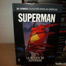 Livros de Banda Desenhada: DC COLECCON NOVELAS GRAFICAS - SUPERMAN - LA MUERTE DE SUPERMAN - TAPA DURA - ECC - MUY NUEVO. Lote 191345525