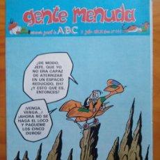 Tebeos: GENTE MENUDA ABC Nº441. MUY BUEN ESTADO. Lote 192072876