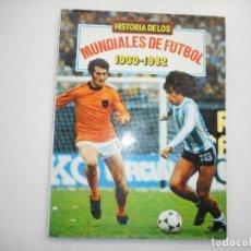 Tebeos: HISTORIA DE LOS MUNDIALES DE FÚTBOL Y98564T. Lote 193230673